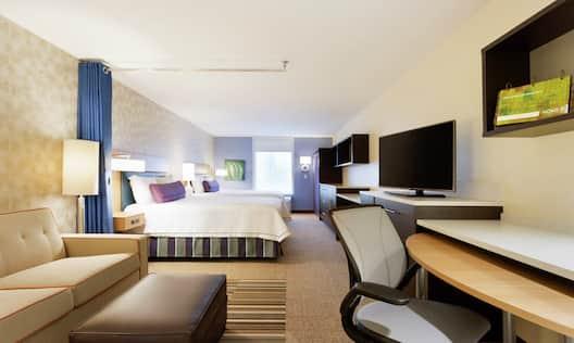 Studio Suite with Queen Beds
