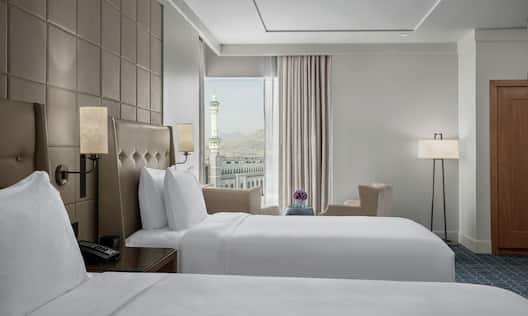 Twin Room with View of Haram