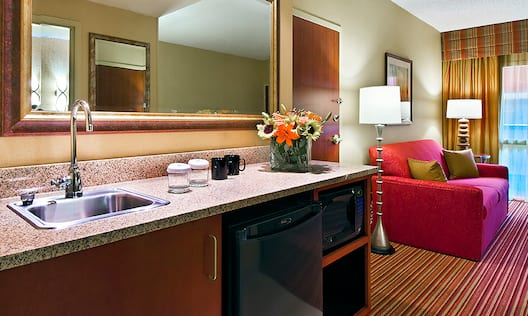 Standard Suite Wet Bar