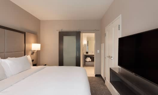 1 King Bed Two Room Suite