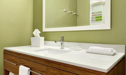 Vanity in Suite Bathroom