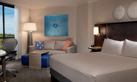 Suite With King Bedroom