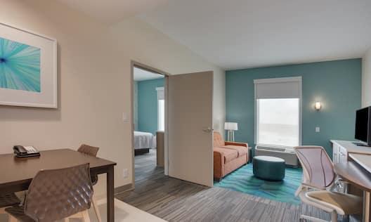 ADA Accessible Suite Living Room