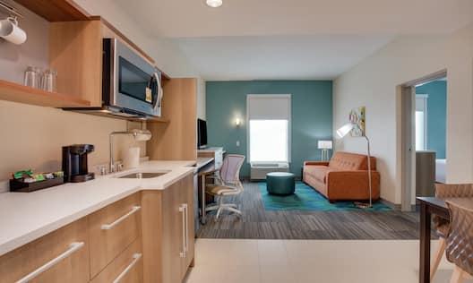 King One Bedroom Suite Living Room
