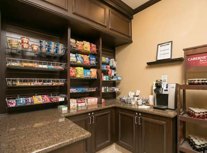 On-Site Snack Shop