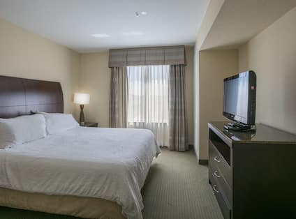 One King Bed Guest Bedroom with HDTV