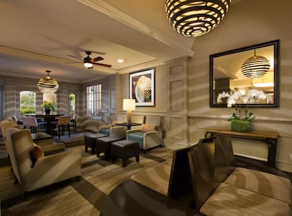 Newly Redesigned Lobby