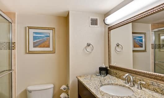 Standard King Bathroom with Shower