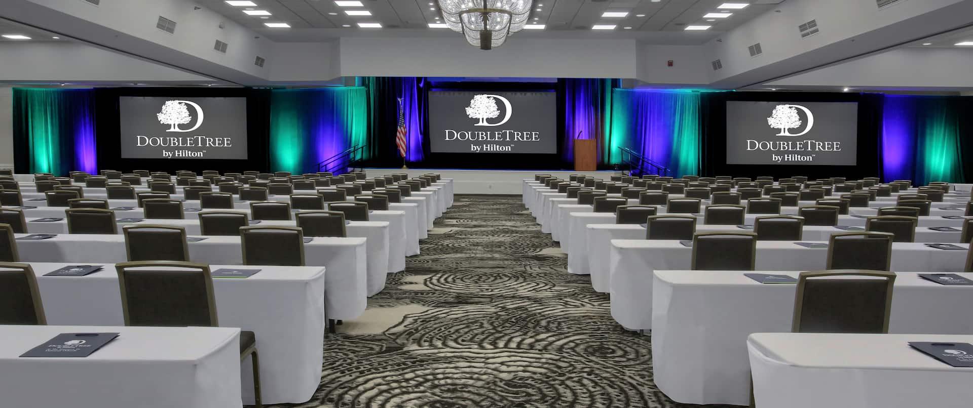 Seminole Ballroom Setup Classroom Style