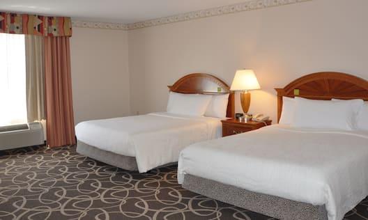 Double Queen Bed Hotel Guestroom
