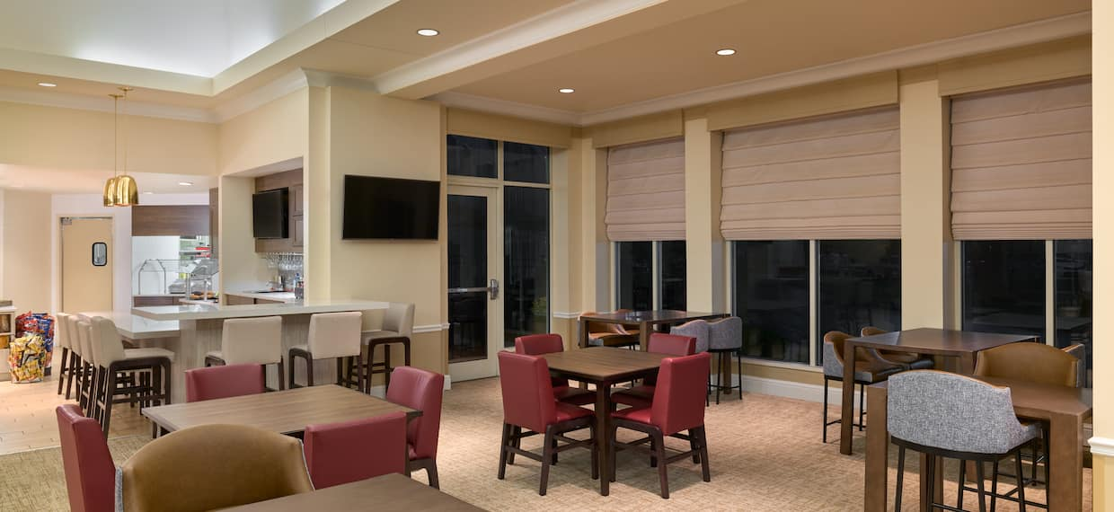 dining seating area