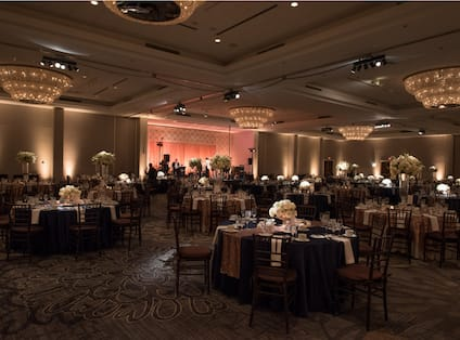 Wedding Setup in Ballroom