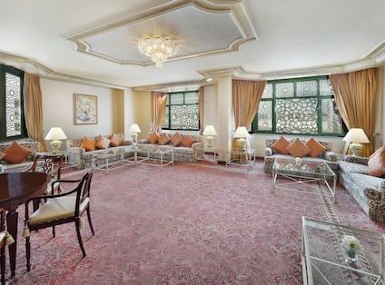 Royal Suite Sitting Area