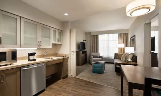 Accessible Kitchen Suite Area