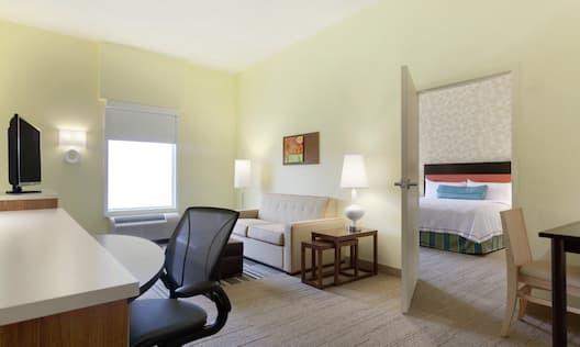 1 King 1 Bedroom Suite