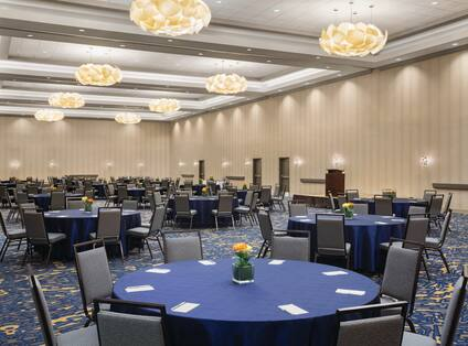 Hamilton Meeting Room Banquet