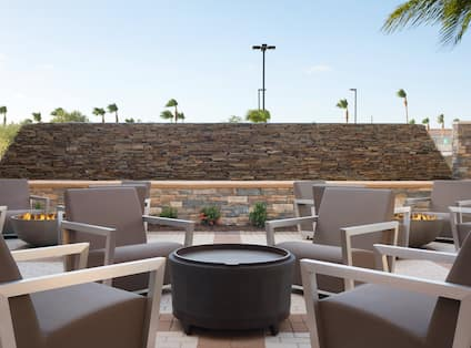 Brickstone Grill Outdoor Seating