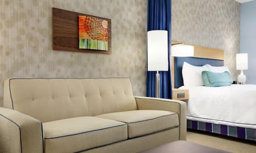 Sofa Bed in King Studio Suite