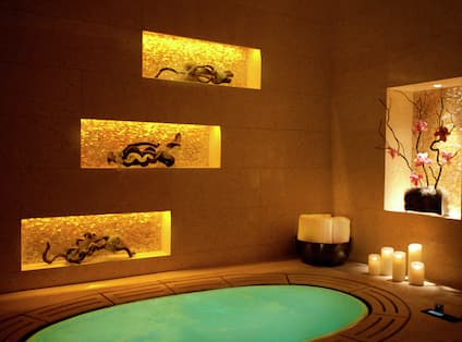 Spa with Hot Tub Area