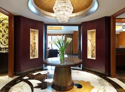 Presidential Suite Lobby Area