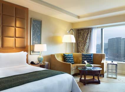 King Bed Deluxe City View Room