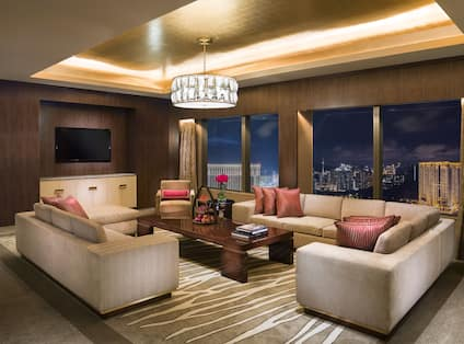 Two-Bedroom Chairman Suite Sitting Room