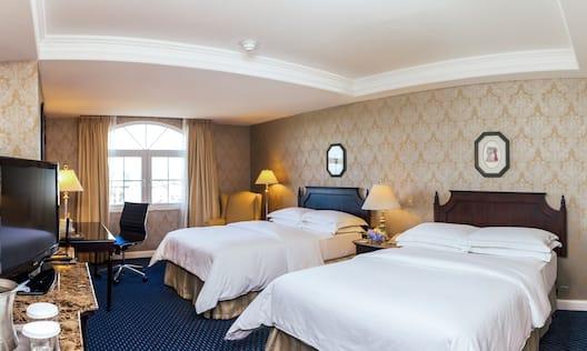 2 Double Beds Excecutive Floor