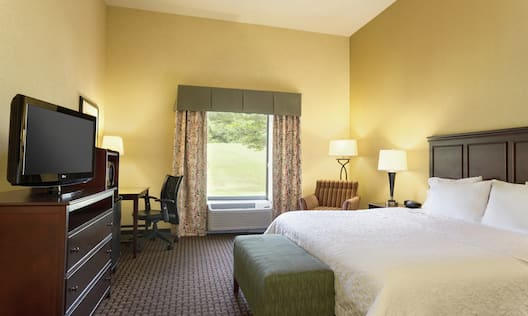 One King Bed Accessible Guest Room