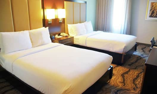 Double Beds with Room Technology