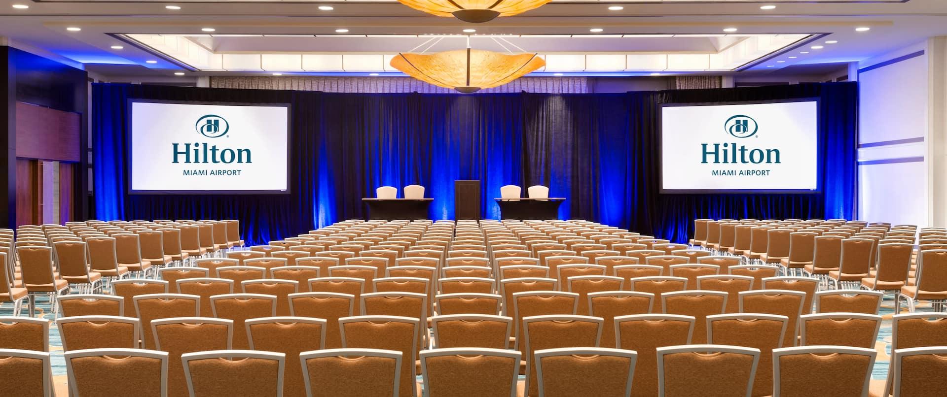 Hilton Miami Airport Meeting Ballroom