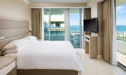ADA Accessible Bedroom with Balcony