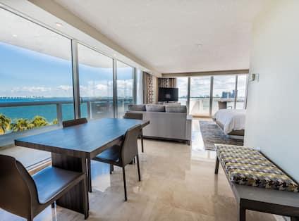 Dining Area Ocean View