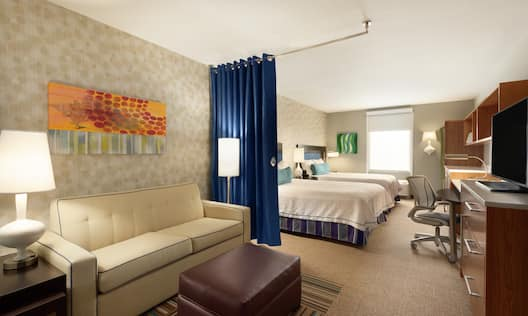 Double Queen Guestroom Studio Suite