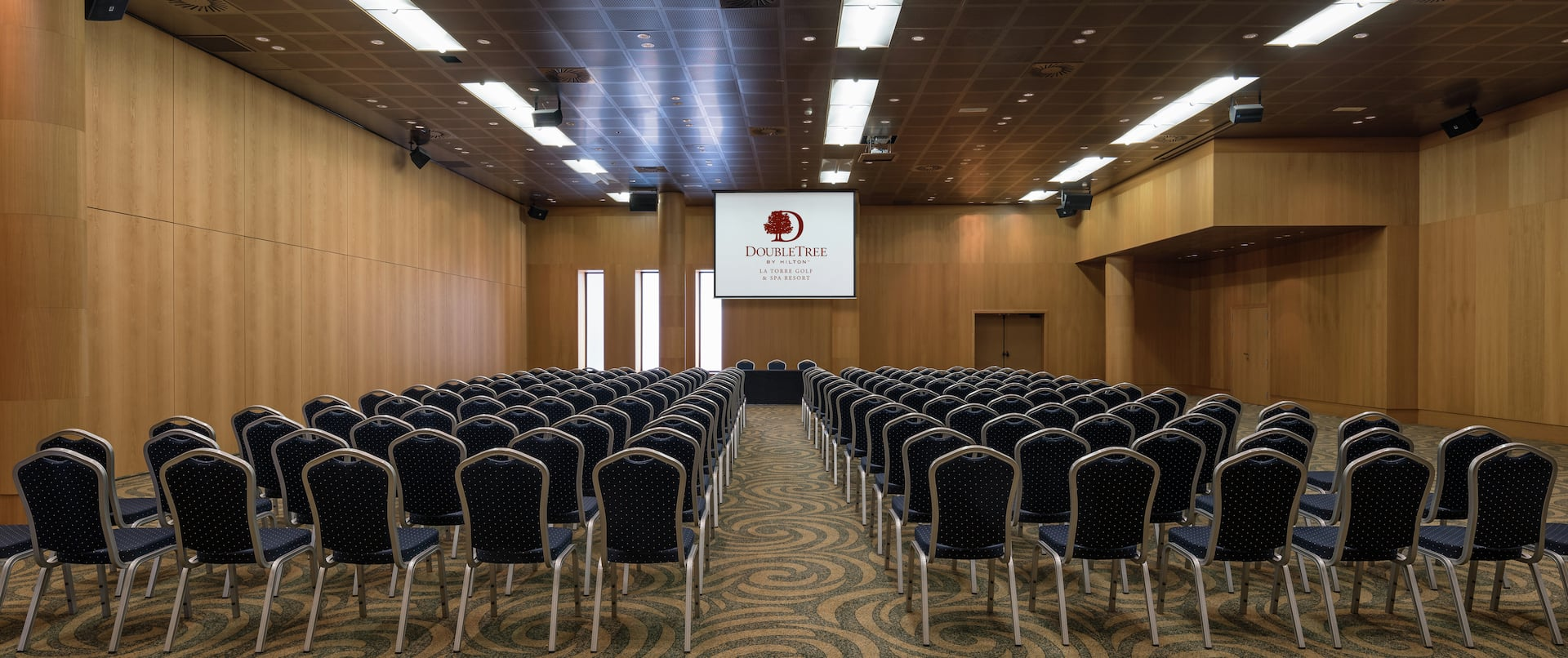 Hotel Theater Setting Meeting Room