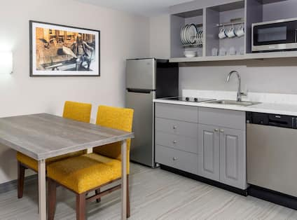 Suite With Kitchen Area