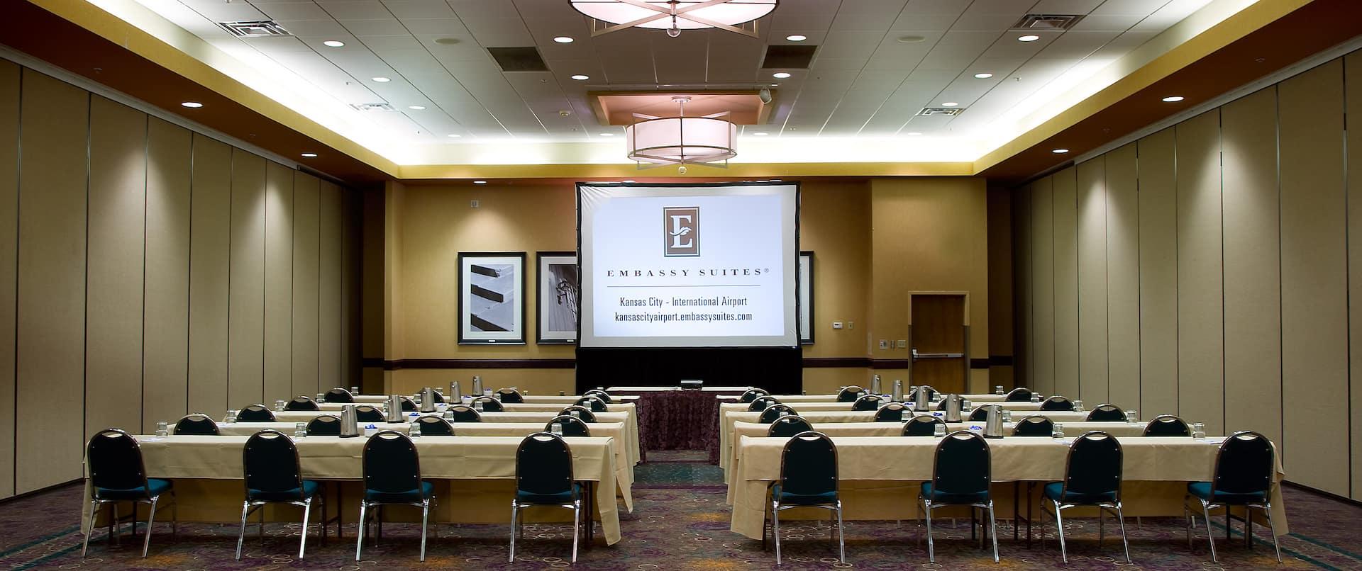 Ballroom Classroom Setup