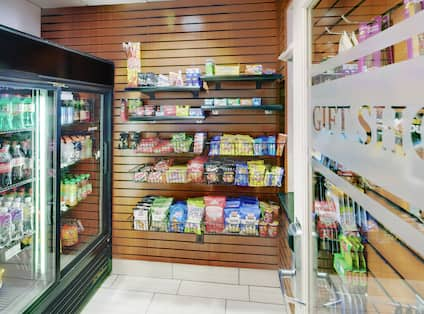 Gift Shop With Snacks and Convenience Items for Guest Purchase