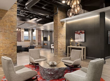 Lobby Lounge Seating Area