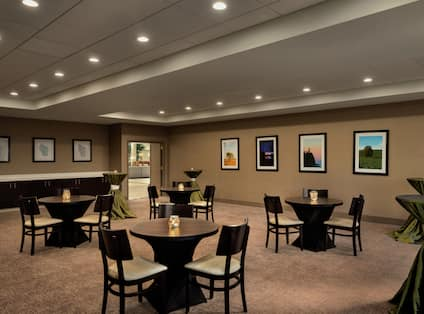 Small Tables in Meeting/Event Space