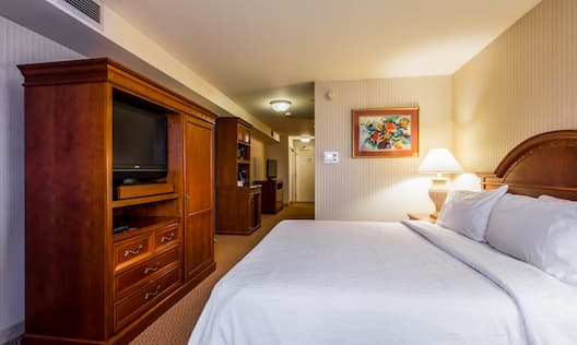 Junior Suite with King sized Bed and HDTV
