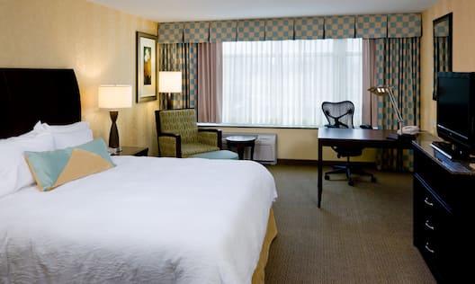 Accessible King Evolution Guestroom