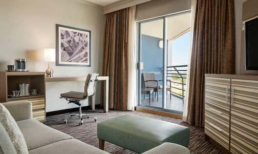 Two Queen Junior Suite with Balcony