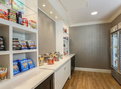 Hotel Market with Snacks and Cold Drinks