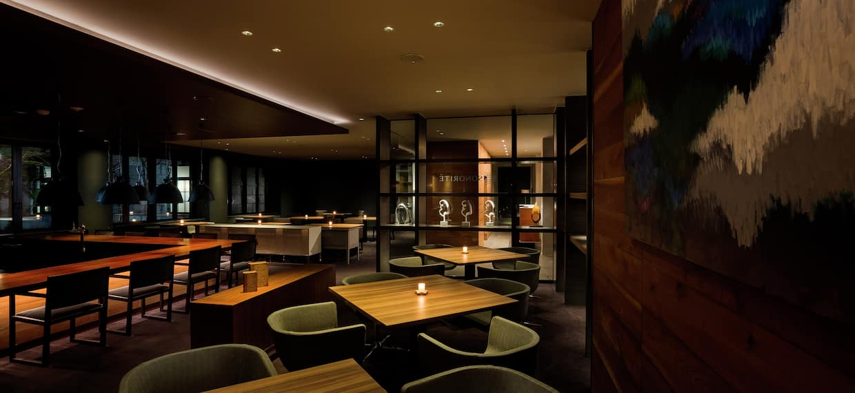 Kikyo Lounge with Tables and Chairs