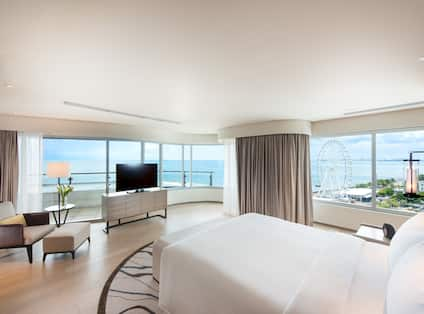 Conrad Manila Hotel, Philippines - Two bedroom Ambassador Suite King Bay View