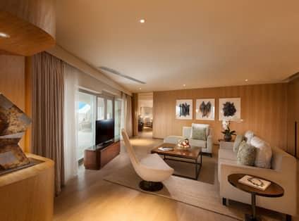 Conrad Manila - Terrace Suite Living Room