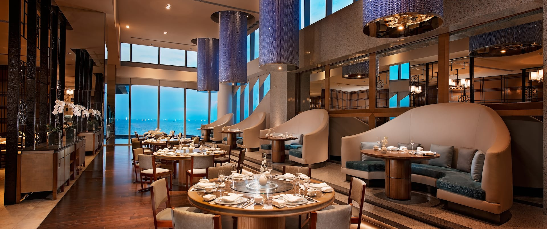 Spacious Restaurant Area