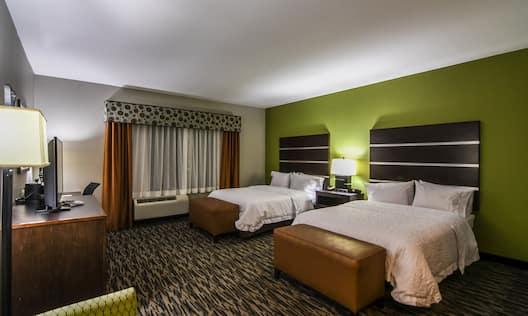 ADA Double Queen Beds