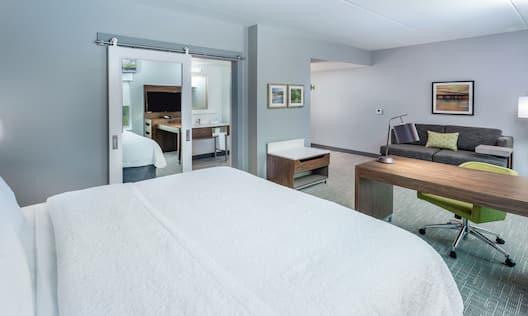 King Bedroom Studio Suite