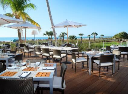 The Deck at 560 Outdoor Dining
